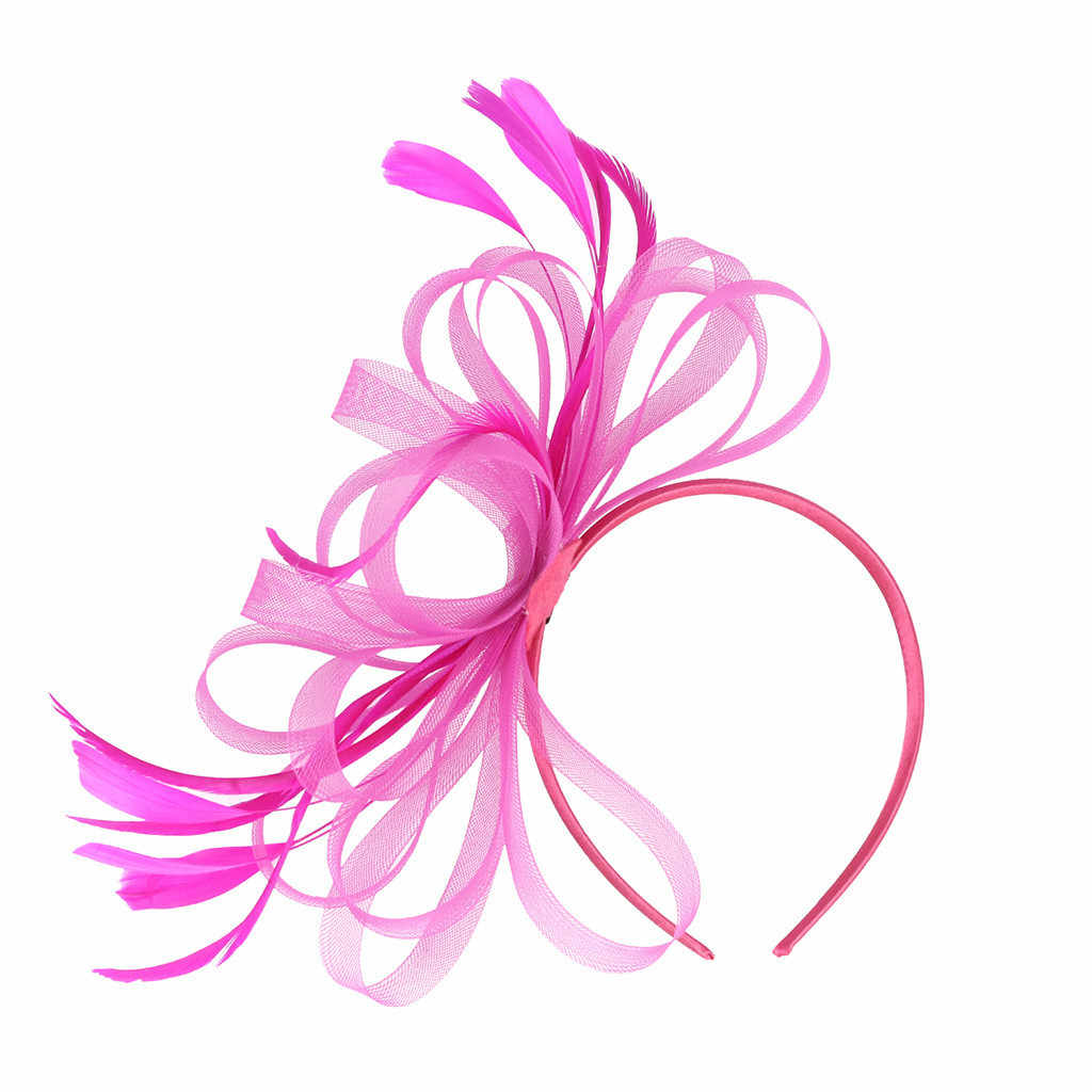 Fascinators chapeau pour femmes thé fête bandeau accessoires de déguisement accessoires de cheveux de mariage pour les femmes bandeau J12 #