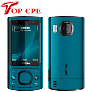 6700S Refurbished Original Nokia 6700 slide Unlocked Mobile Phone 6700S 3G Smartphone 5MP Camera JAVE 2.2