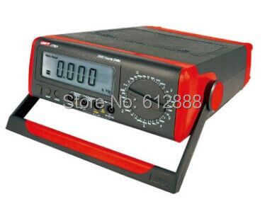<font><b>UNI</b></font>-<font><b>T</b></font> <font><b>UT801</b></font> Bench Type Digital Multimeter Thermometer, LCD Display, Data Hold image