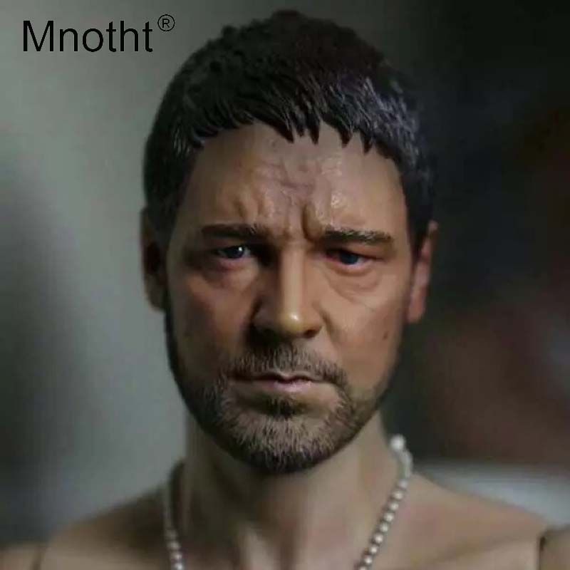 1//6 Scale Action Figure Russell Crowe HeadSculpt With Male Body Doll Toys
