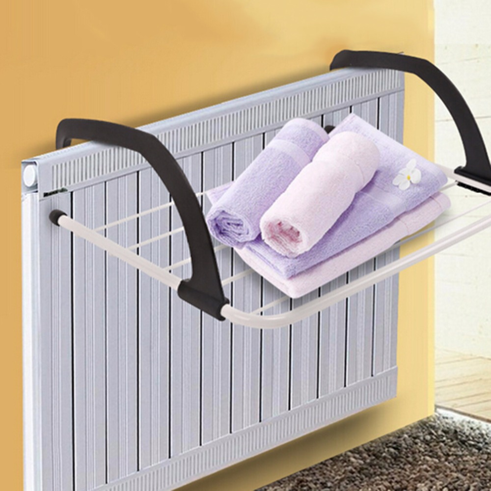 2018 New Multifunction Clothes Drying Rack Foldable Outdoor Bathroom Windowsill