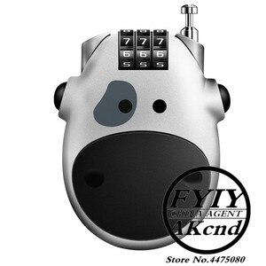 Image 5 - Casque moto universel antivol casque mot de passe verrouillage accessoires moto pour yamaha honda