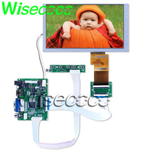 6.2 inch LCD screen HSD062IDW1 A00 A01 A02 Touch screen with HDMI VGA 2AV 50 PIN Driver Board TTL LVDS Controller Board все цены