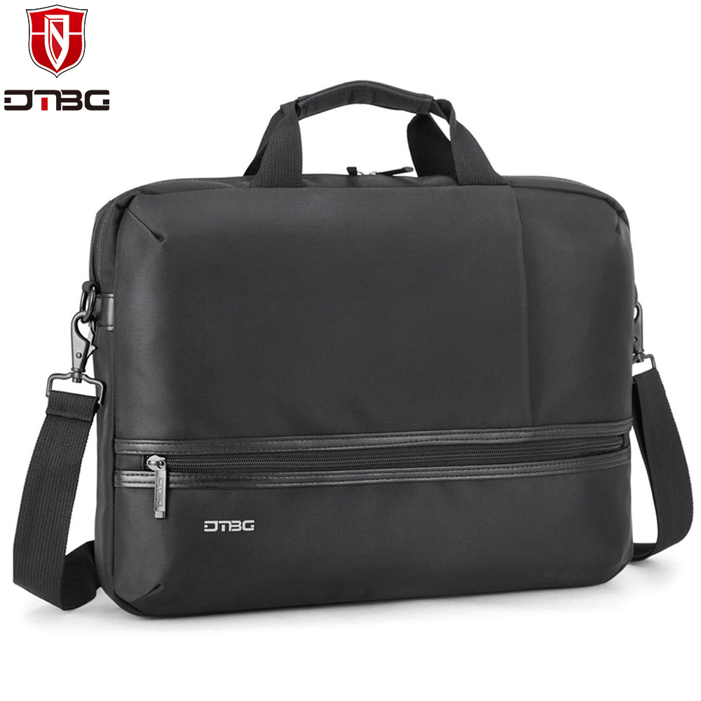 DTBG 15 15.6 Inch Laptop Briefcase for Men Women Water-resistant Business Computer Shoulder Bag Handbag for Lenovo Dell Asus HP