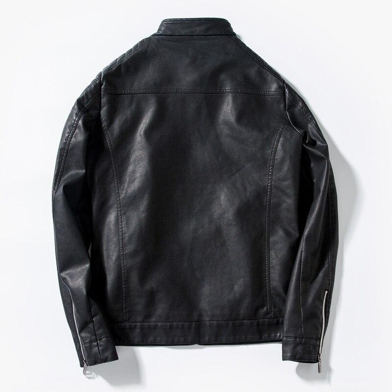Blousons Hommes 1439 En Veste Manteaux Marque bleu Cuir 2018 Dropshipping Homme Et Noir rouge Faux Louson Designer De Luxe Vestes hrCxtdsQ