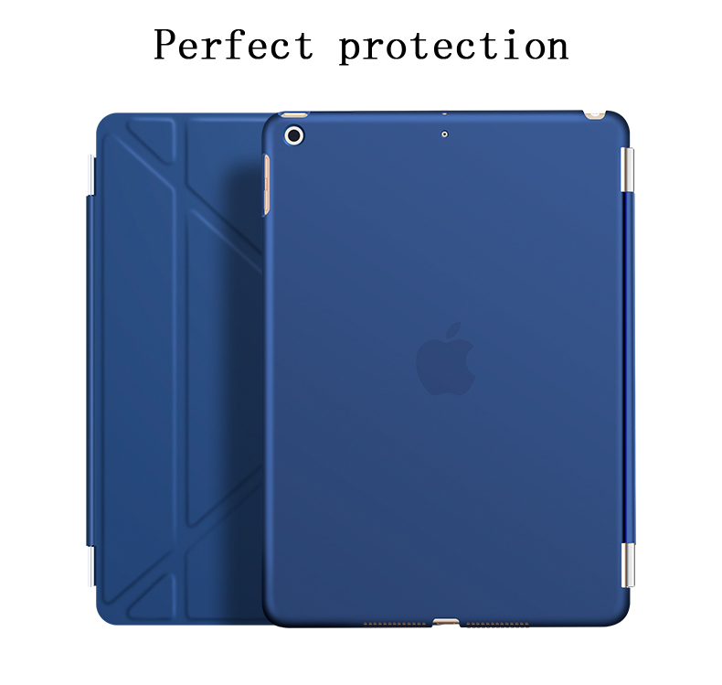 Case for New iPad 9.7 inch 2017 2018 YRSKV Deformation PU Smart Cover Magnet awakening sleeping model A1822 A1823 A1893 A1954