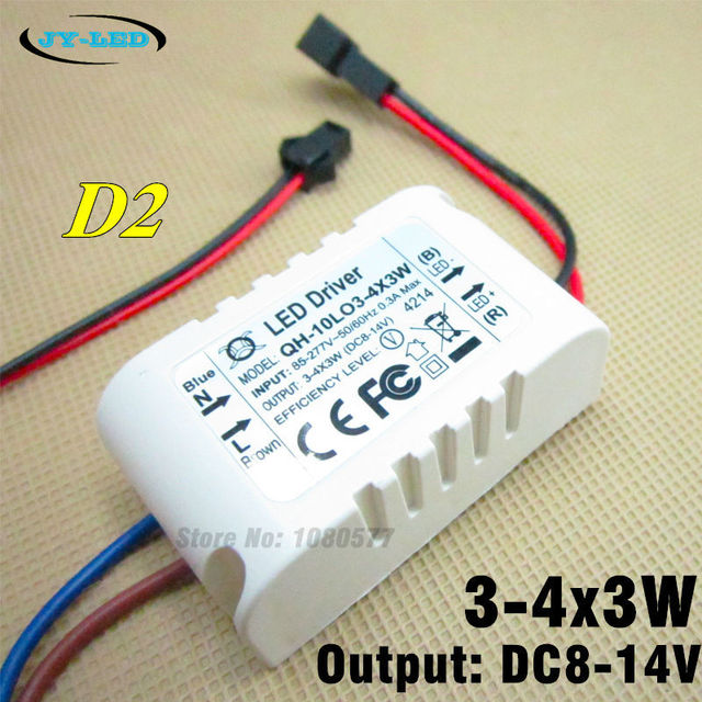 10pcs 3 4x3w 600ma led driver 3x3w 4x3w constant current outer 10pcs 3 4x3w 600ma led driver 3x3w 4x3w constant current outer isolation lighting transformer for aloadofball Images