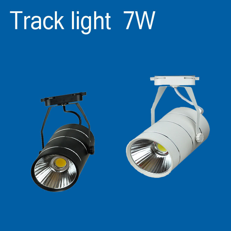 Retail Spot Wall Lamp 7W 15W 20W 30W COB Led Track Light Soptlight Tracking Industrial AC85-265V - Ever changing room store