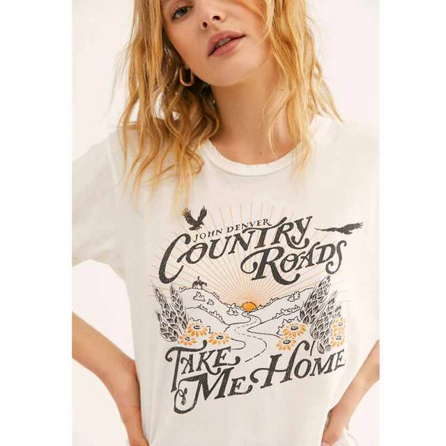 Boho Inspired Country Roads T-Shirt