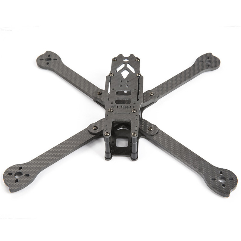 IFlight XL7 V2 7 Inch 294mm Wheelbase 4mm Arm 3K Carbon Fiber FPV Freestyle Frame Kit for RC Models Multicopter Racing Drone DIY miko rhino3 150mm wheelbase 3 inch 6mm arm carbon fiber molded integrated rc fpv racing frame kit for diy multicopter drone part