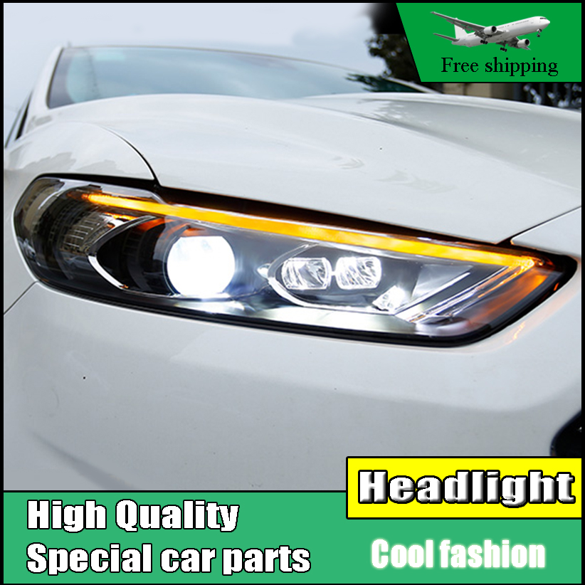 Car Styling Head Lamp For Ford Mondeo For Fusion Headlight