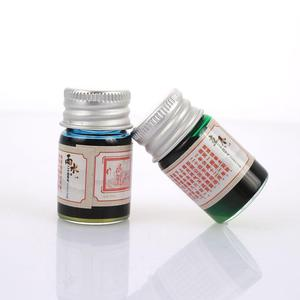 Hot Sale 5ML 24 Colors Calligraphy Writing Painting Fountain Pen Ink with Glitter Powder
