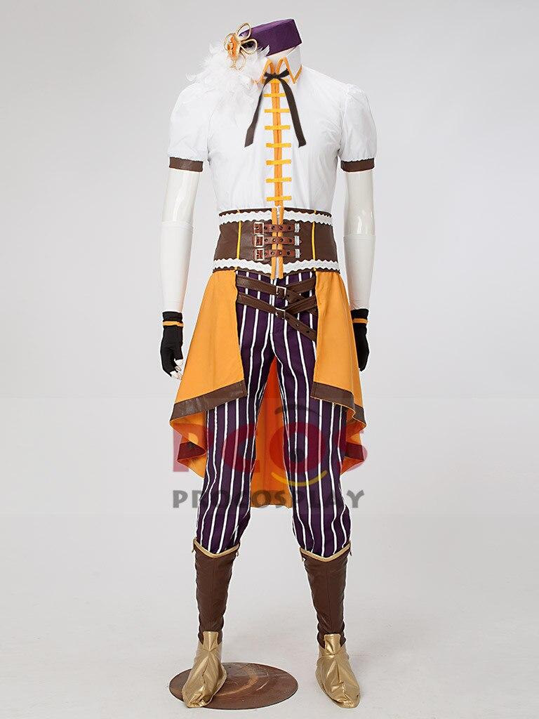 Costume Cosplay Mami Magi Madoka Magica Tomoe Costume mâle Version mp002399