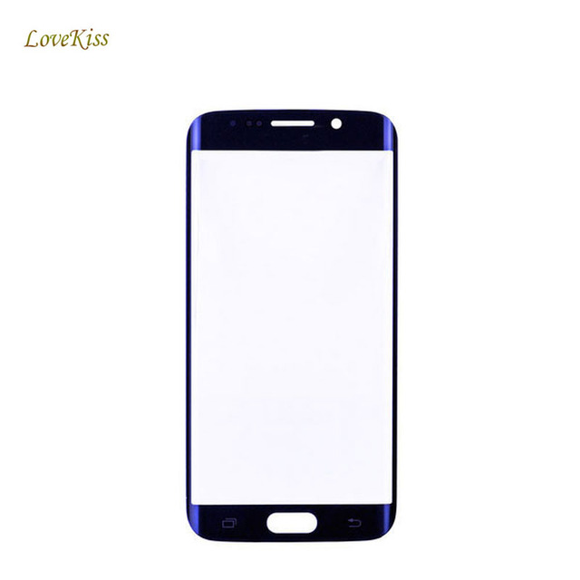 10pcs/lot Touch Screen Panel For Samsung Galaxy S6 Edge G925F G925 G9250 Touchscreen Front Glass Replacement Outer Lens No LCD