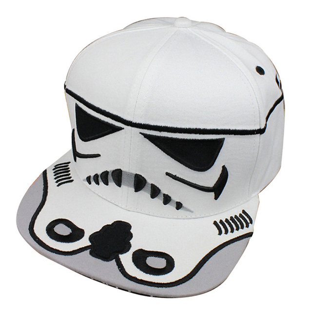iMucci 2017 Fashion Cotton Brand Star Wars Snapback Caps Cool Strapback Letter Baseball Cap Bboy Hip-hop Hats For Men Women