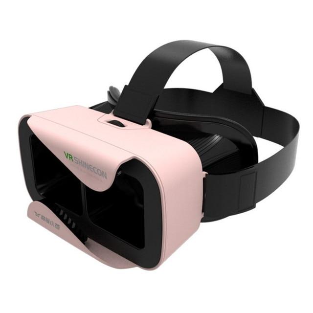 Shinecon III Head-Mount Cardboard Virtual Reality Glasses
