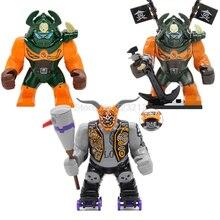 Model-Toys Building-Blocks-Set Killow-Figure Ninja-Series Children for Gift 7cm Dogshank