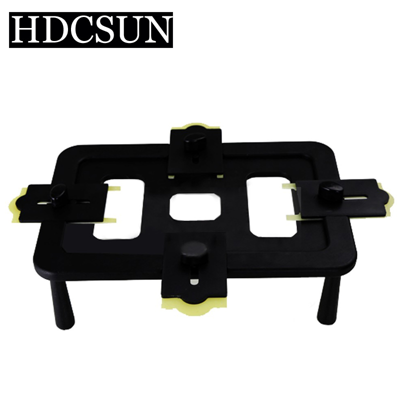 New Black Universal Plastic Mould Mobilephone LCD Screen Mold Jig Holder Clamp for OCA Laminating high precision mould manufacturers plastic injection mold making