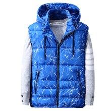 plus size 8XL 9XL 10XL New arrival Mens Winter Men super Large Vest Cotton Padded Jacket Casual Loose Zipper Man vest