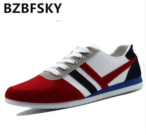 New 2018 Spring Autumn Fashion Canvas Lace-up Men Shoes Plimsolls Breathable Male Sneakers For Men Casual Shoes Big Size 39-46 lace up low top walking shoes canvas men casual shoes spring autumn male plimsolls soft round toe flat heel man wild new