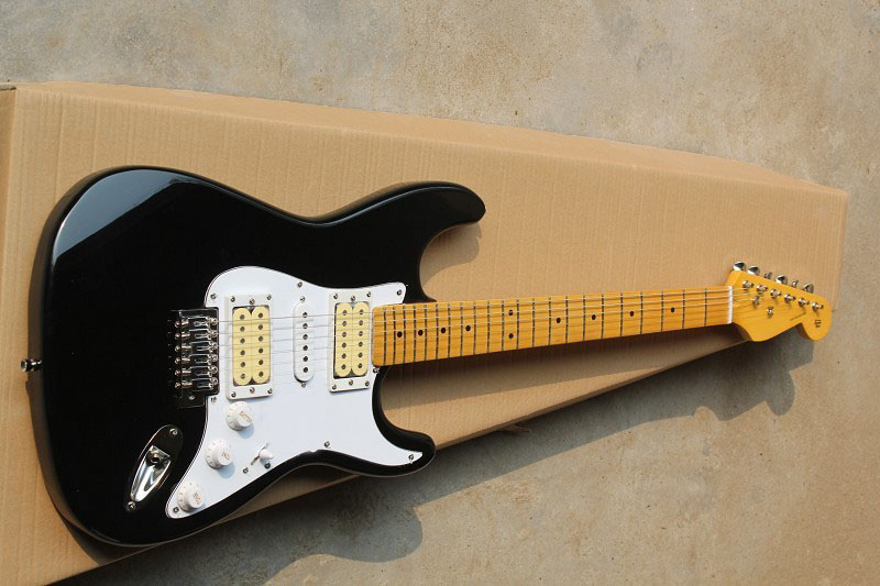 Free Shipping F Stratocaster ST HSH Eric Clapton Signature BLACKIE Stratocaster Electric Guitar 15 9