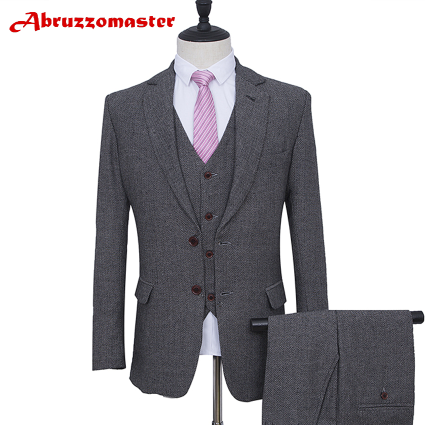 New Arrival Single Breasted Blazer For Groom Tuxedos 4