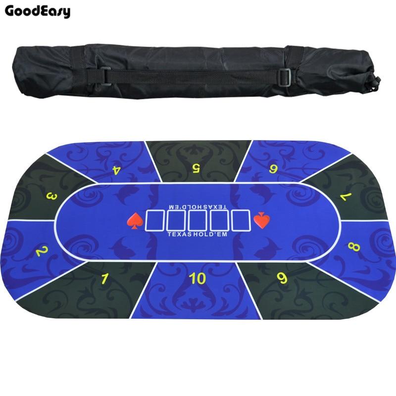 1,2 м Texas Hold'em скатерть резиновый коврик настольная игра покер столешница цифровая печать замша Казино макет аксессуары для покера-1