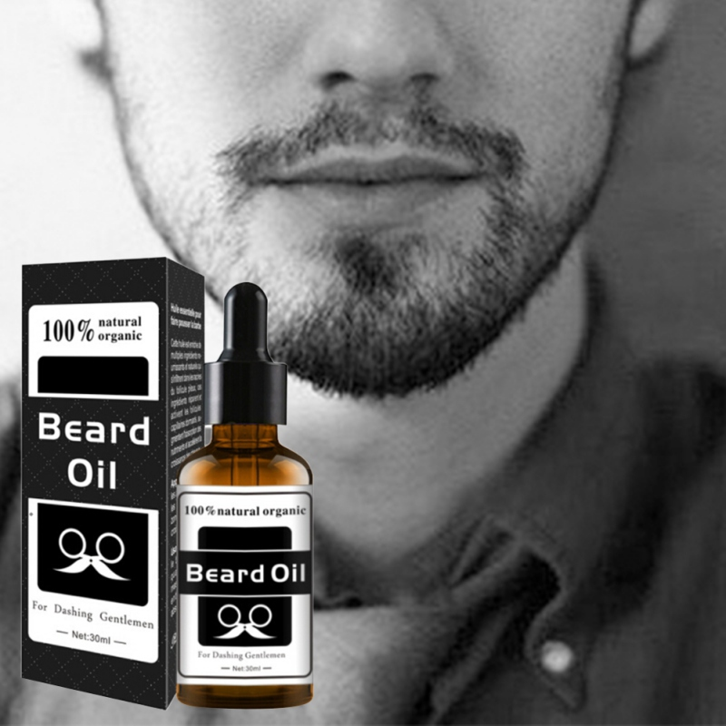 Natural Grapefruit seed oil Facial Nutrition Moustache Men Beard Growth Enhancer Grow Beard Shaping Tool Beard Care Products New