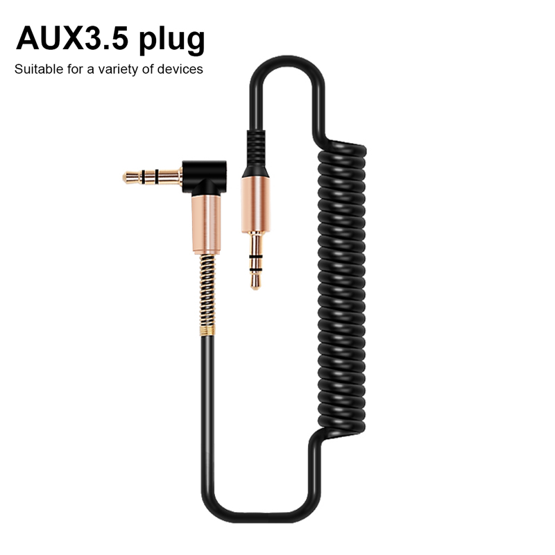 Cable Aux 3,5mm Cable de Audio 3,5mm Jack Cable de altavoz macho a macho Cable auxiliar de coche para JBL auriculares iphone Samsung Cable auxiliar