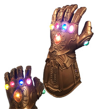 Thanos Infinity Gauntlet Avengers Infinity War Gloves Superhero Thanos Action Figure Pvc New Collection Figures Toys цена и фото