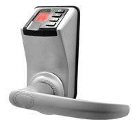 Biometric Fingerprint Security Door Lock 3 In 1 Digital Fingerprint Password Key Lock Home Office Safety Electronic Door Locks