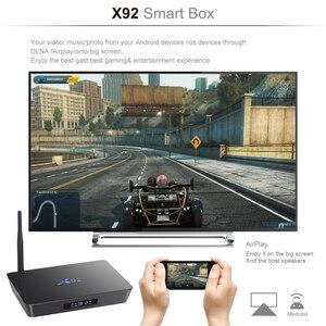 Image 4 - Originale X92 2 GB/16 GB 3 GB/32 GB Astuto di Android 7.1 TV Box Amlogic S912 Octa core 2.4G/5.8G Dual WiFi 4K Media Player Set Top Box