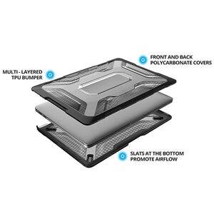 Image 2 - SUPCASE dla MacBook Pro 13 Case (2019 2018 2017 2016) A2159/A1989/A1706/A1708 z ekranem dotykowym Retina TPU osłona zderzaka