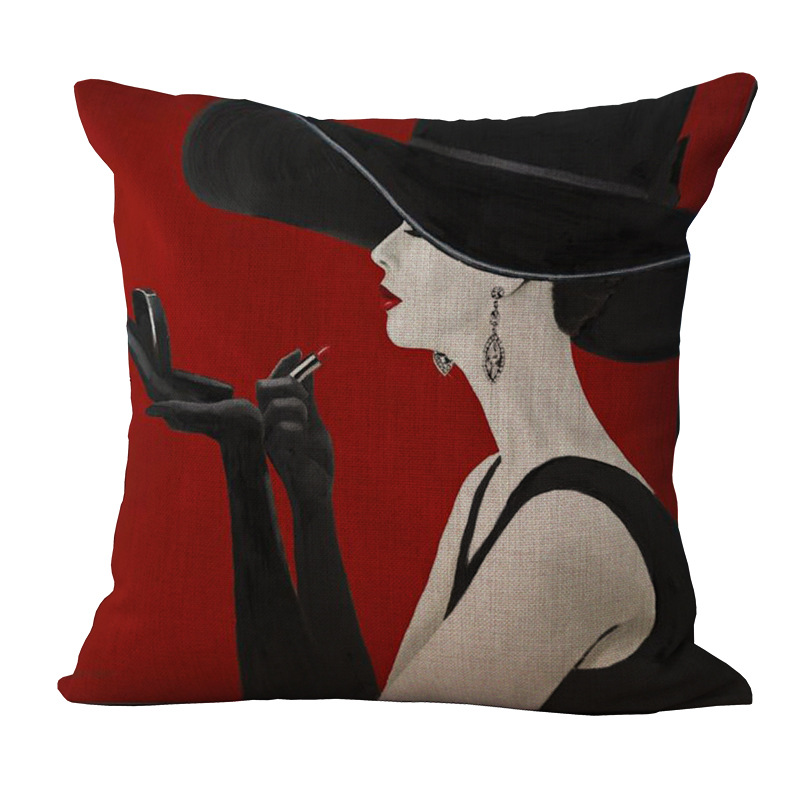 Aliexpresscom Buy audrey hepburn decorative pillows  : audrey hepburn decorative pillows without inner back chair sofa cushion throw pillows creative emoji pillow cushions from www.aliexpress.com size 800 x 800 jpeg 125kB