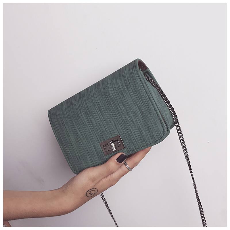 S.IKRR Worean Shoulder Bag luxury handbags women bags designer Version  Wild Girls Small Square Messenger Bag bolsa feminina