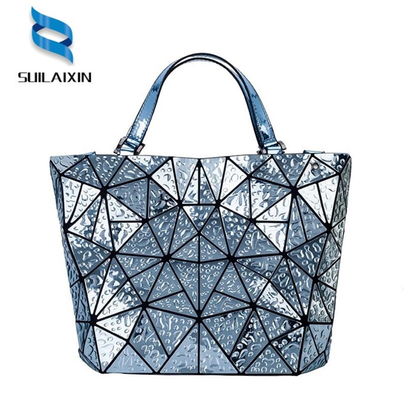 Diamonds BaoBao Bag Folding Fashion Drops of water Laser Shoulder Handbag Fashion Casual Women Tote Top Handle Bags High Quality diamonds
