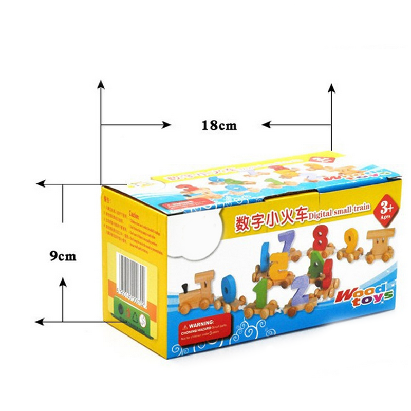 Горячие 1 комплект поезд цифровые Обучающие Детские Обучающие Модели Строительные наборы игрушки Раннее Обучение детство детские подарки 2019