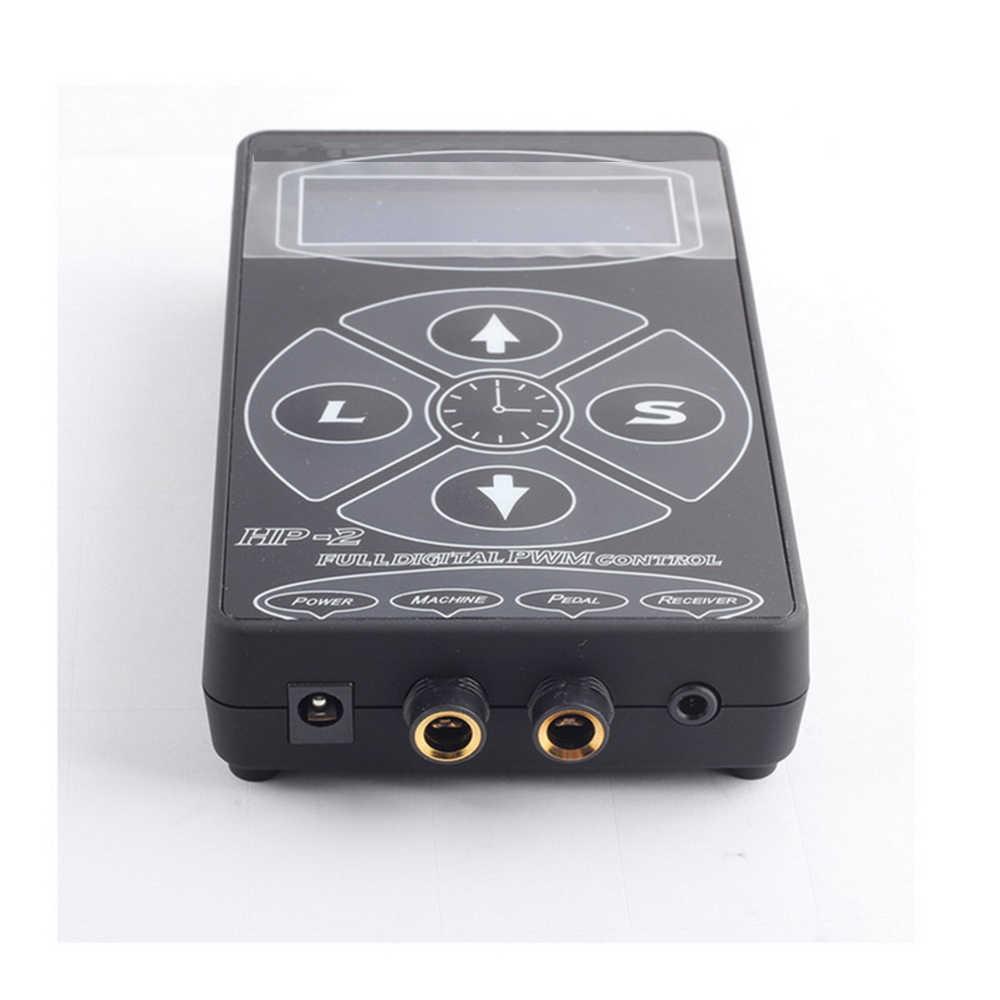 Татуировка питания обновление hp-2 Интеллектуальный полный Цифровой PWM управление тату машина ЖК-дисплей макияж двойной татуировки Поставки набор