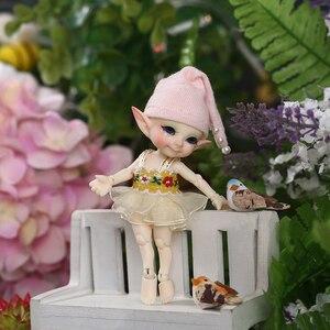 Image 3 - Free Shipping Fairyland FL Realpuki Pupu Doll BJD 1/13 Pink Smile Elves Toys
