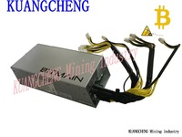 KUANGCHENG AntMiner 1600W APW3 Power Suitable For Bitmain S9 S7 S5 S4 L3 Or D3 Btc
