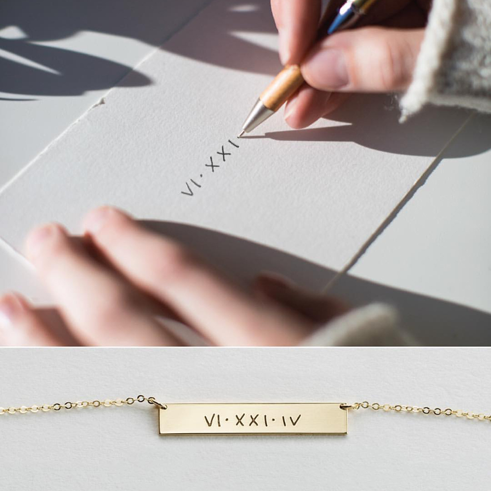 Image 2 - Personalized Handwriting Necklace  Actual Handwriting Necklace 