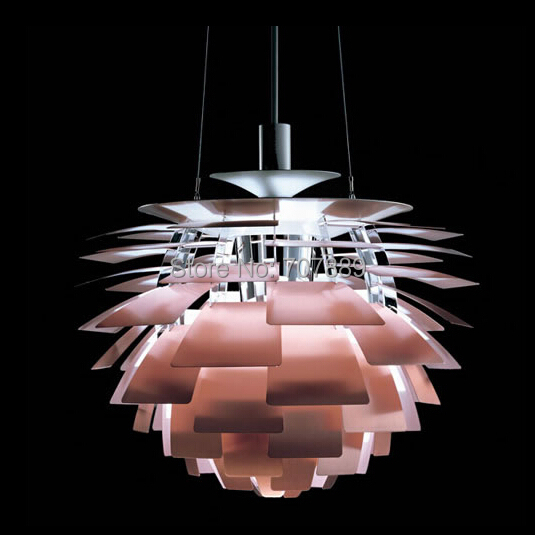 buy 60cm poul henningsen ph5 artichoke pendant lamp modern aluminum pendant. Black Bedroom Furniture Sets. Home Design Ideas