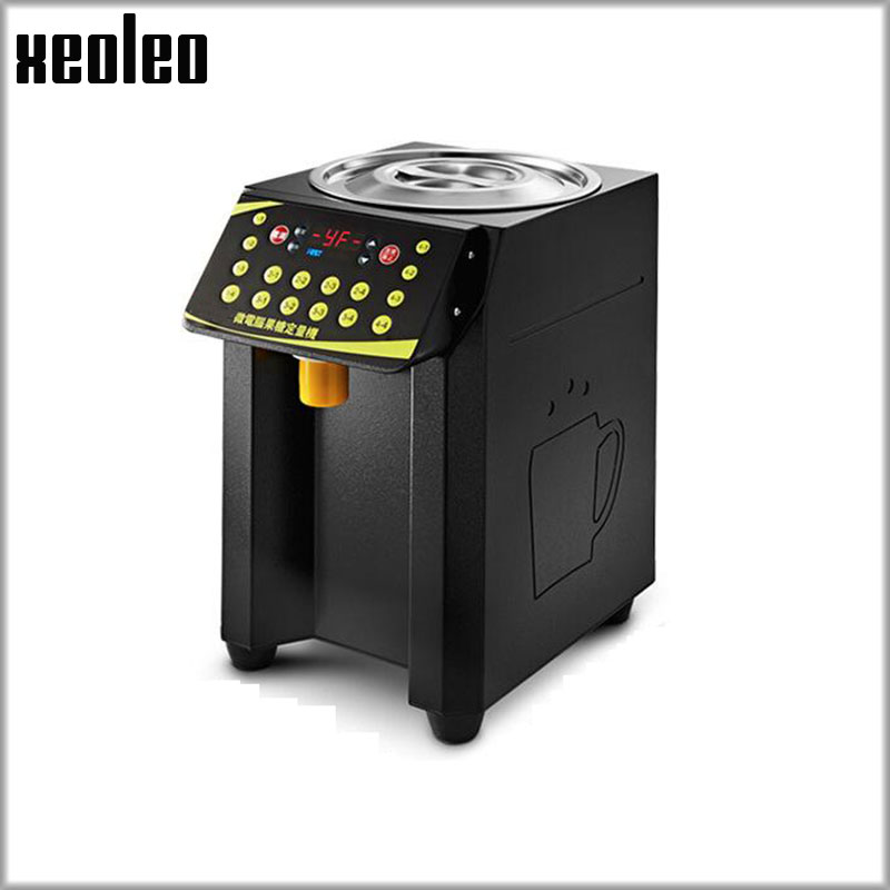 цена на XEOLEO Fructose machine 8.5L 16 Grid Quantitative machine Automatic Fructose Dispenser Syrup dispenser Fruit sugar machine