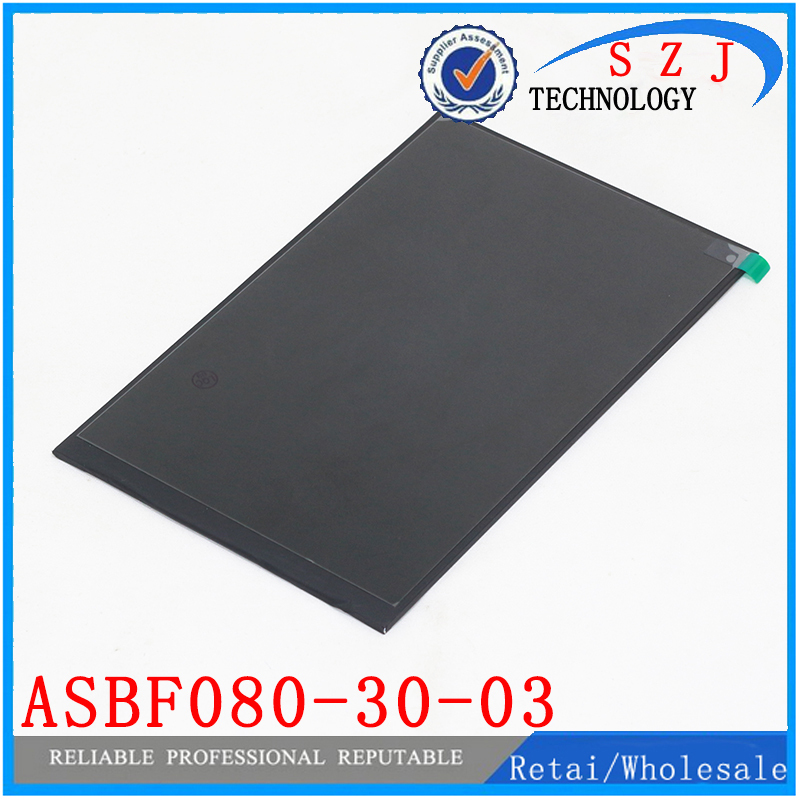 Original 8'' inch LCD Display Panel ASBF080-30-03 for Tablet pc LCD screen Replacement Free shipping original 9 inch lcd display panel fpc9005001 for tablet pc lcd screen replacement free shipping