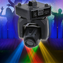 7 Colors Rainbow 30W DMX512 Sound Control Auto Rotating Stage Lighting Effect 8/12 Channels Changing Head Moving LED Light(China)