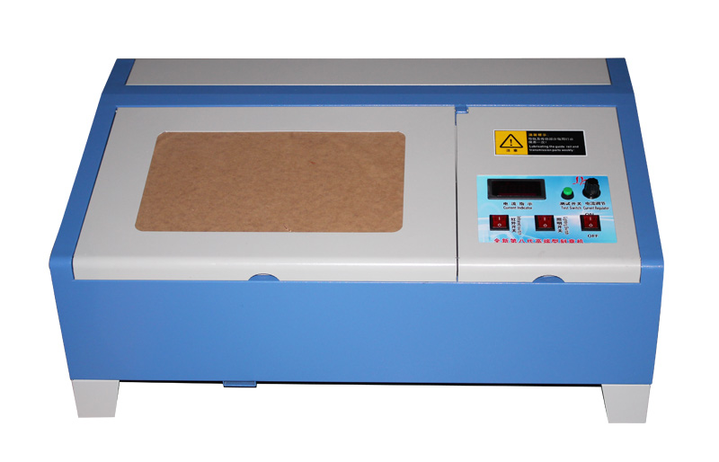 USB port CO2 laser engraving 3020 40w with digital function and honeycomb stamp laser machine 3020 with lift system up and down function 40w heigh configration