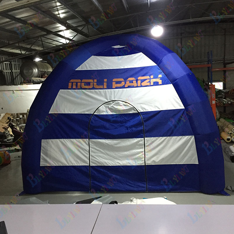 Customized advertising inflatable dome tent inflatable semi-circle tent for saleCustomized advertising inflatable dome tent inflatable semi-circle tent for sale