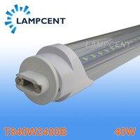 25 Pack LED Tube T8 F96 8FT 40W G13 To R17D Base Replace Fluorescent Lamp Light
