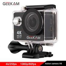 оригинал GEEKAM H9 видео видеокамера 4к 1080P hd спорт экшн камеры FOR eken h9 стиль go pro стиль камера на шлем водонепроницаемый экшен Экшен фотокамера