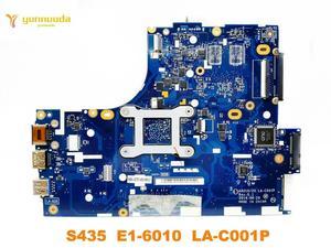 Image 2 - Original für Lenovo S435 laptop motherboard S435 E1 6010 LA C001P getestet gute freies verschiffen
